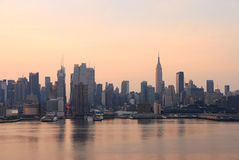 New York City in the morning Stock Photography