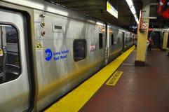 New York City MTA Long Island Rail Road. At Penn Station, New York City, USA Stock Photography