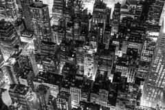 New York City na noite Fotografia de Stock Royalty Free