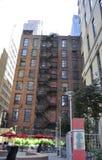 New York City 2nd Juli: Historisk byggnadlägenheter i Manhattan från New York City i Förenta staterna Royaltyfri Fotografi
