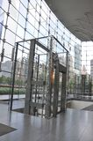 New York City, 2nd July: Brookfield Place interior in Manhattan from New York City in United States stock photography