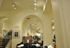 New York City, 2nd July: Luxury Shop interior from Manhattan in New York City in United States royalty free stock photos
