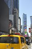 New York City, 2nd July: Times Square on daytime in Midtown Manhattan from New York City in United States Royalty Free Stock Photo