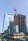 New York city new bulding constrution Royalty Free Stock Images