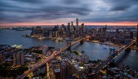 New york city. Bridges stock photography