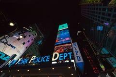 NEW YORK CITY - New York City Police sign Stock Image
