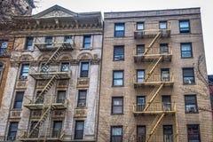 N.Y.C Duo Buildings stock image