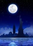 New York City at Night. Stock image of New York City at night Royalty Free Stock Images
