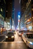 New York City at night. NEW YORK - CIRCA MARCH 2016: New York City at night. The City of New York, often called New York City or simply New York, is the most stock images