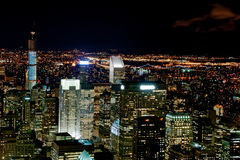 New York city by night Stock Photography
