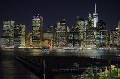 New York City Night royalty free stock image
