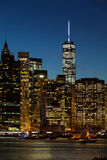 New York City night Stock Images