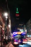 New York City night view Stock Photos