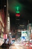 New York City night view Stock Image