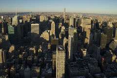 New York City north view Royalty Free Stock Image