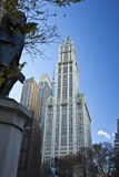 NEW YORK CITY, November 19, 2013: Woolworth Building, New York C Royalty Free Stock Image