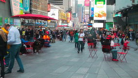NEW YORK CITY NY kan 10 2016 arkivfilmer