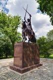 New York City, NY/USA - circa July 2015: King Jagiello Monument in Central Park, New York  City Stock Photos