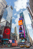 New York City, NY/USA - circa July 2013: Time Square in New York  City Stock Images