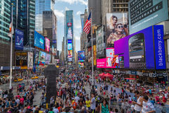 New York City, NY/USA - circa July 2013: Time Square in New York  City Stock Photography