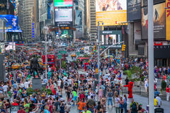 New York City, NY/USA - circa July 2013: Time Square in New York  City Royalty Free Stock Images