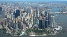 NEW YORK CITY, NY, USA - 1 SEP 2011, Skyline of New York from Hudson Stock Photos