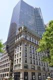 New York City, o 2 de julho: Centro do prédio de escritórios de HSBC da Quinta Avenida em Manhattan de New York City no Estados U Foto de Stock