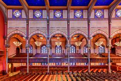 Central Synagogue - New York City stock images