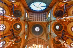 Eldridge Street Synagogue - New York City Stock Images