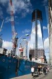 NEW YORK CITY - OCTOBER 3: One World Trade Center Royalty Free Stock Photos