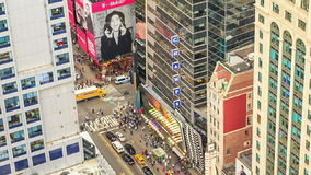 NEW YORK CITY, OCTOBER 9, 2014 - Sunset at Manhattan stock video footage