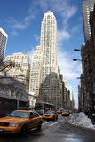 New York City Office Building Stock Photo