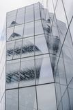 New York City office building reflection architecture facade detail Royalty Free Stock Photography