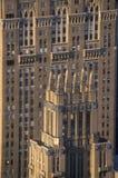 New York City på den 42nd gatan och den 5th avenyn, Manhattan, NY Fotografering för Bildbyråer