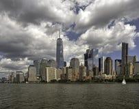New York City på 4th Juli 201 Royaltyfri Fotografi