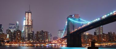 New York City panorama Royalty Free Stock Image