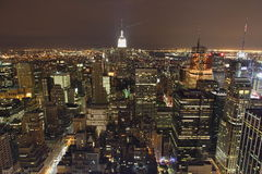 New York City Panorama Stock Photography
