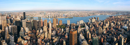 New York City panorama Stock Photos