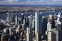 The New York City panorama Royalty Free Stock Image