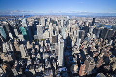The New York City panorama Royalty Free Stock Photography