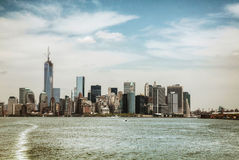 New York City panorama Stock Images