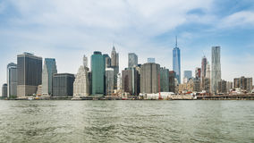 New York City panorama with Manhattan Skyline Royalty Free Stock Photography