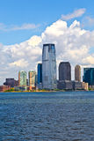 New York City panorama with Manhattan Skyline over Hudson Royalty Free Stock Photos