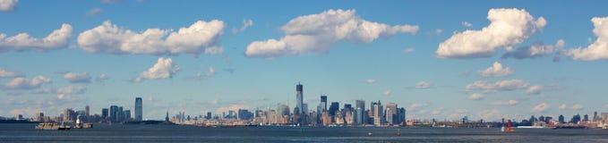 New York City Panorama Stock Photography