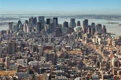 New York City panorama Stock Image