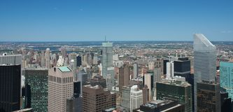 New York City panoramic Royalty Free Stock Photography