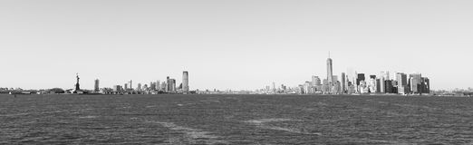 New York City Panoramic Royalty Free Stock Images