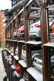 New York City parking lots Stock Photo