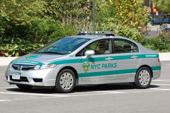 New York City Parks Squad Car Stock Images