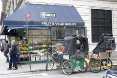 New York City Pedicab Stock Photos